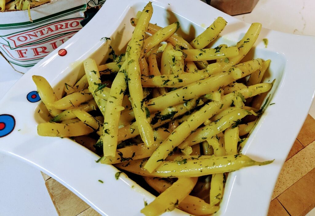 Nutrition Made Simple: Yellow Bean & Dill Salad